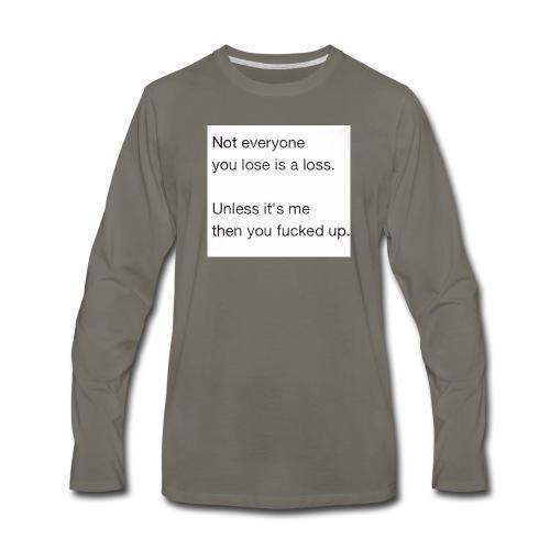 Getting Over - Men's Premium Long Sleeve T-Shirt