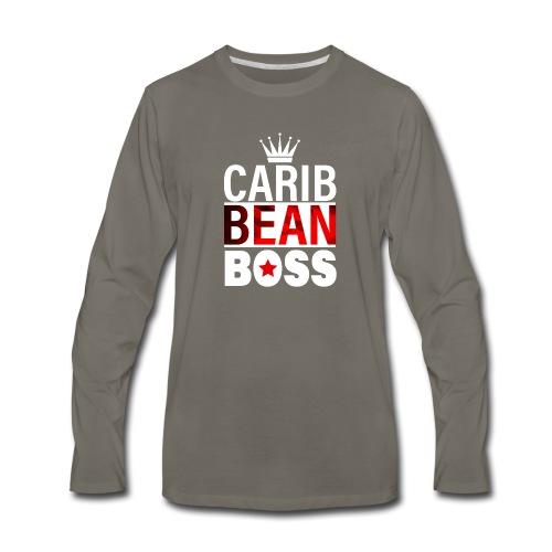 Caribbean Boss - Men's Premium Long Sleeve T-Shirt