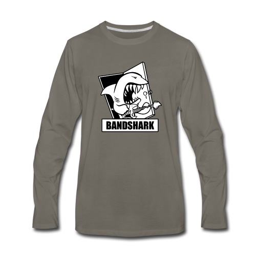 Bandshark - Men's Premium Long Sleeve T-Shirt