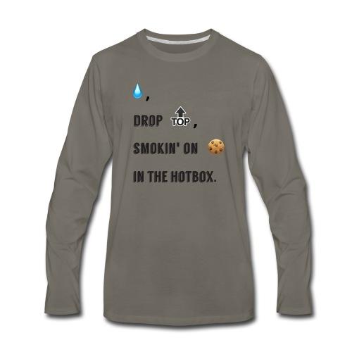 Raindrop - Men's Premium Long Sleeve T-Shirt