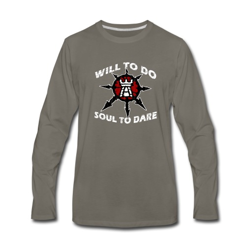 Task Force Havoc Logo and Motto - Men's Premium Long Sleeve T-Shirt