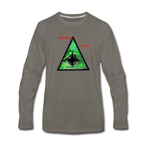 illuminati Confirmed - Men's Premium Long Sleeve T-Shirt
