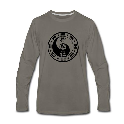 SWC LOGO BLACK - Men's Premium Long Sleeve T-Shirt