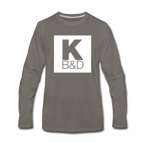 KBD_White - Men's Premium Long Sleeve T-Shirt