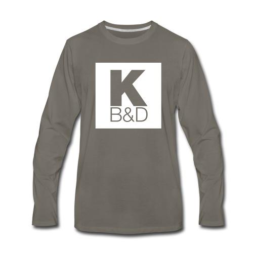 KBD_White - Men's Premium Long Sleeve T-Shirt