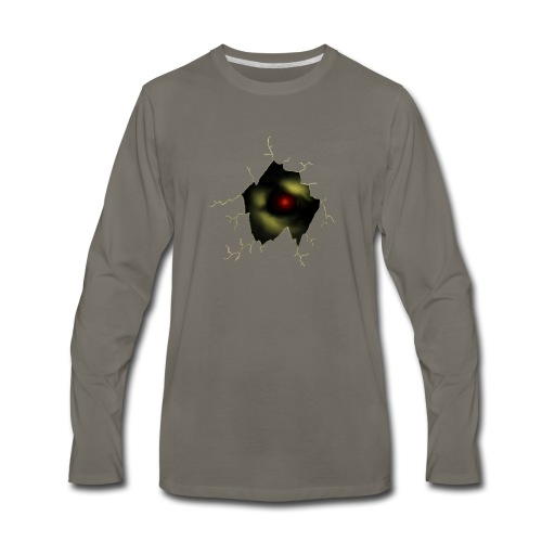 Broken Egg Dragon Eye - Men's Premium Long Sleeve T-Shirt