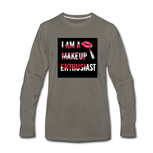 MAKEUP ENTHUSIAST (VERSION 2) - Men's Premium Long Sleeve T-Shirt