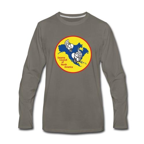 SCNA logo - Men's Premium Long Sleeve T-Shirt