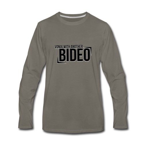 With Another Bideo - Men's Premium Long Sleeve T-Shirt