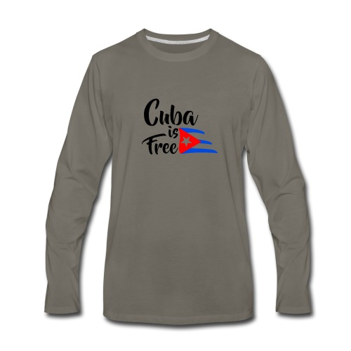 Fidel Castro - Men's Premium Long Sleeve T-Shirt