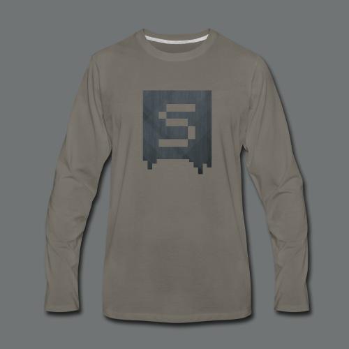 Isivisi Logo - Men's Premium Long Sleeve T-Shirt
