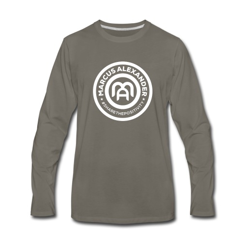 Marcus Alexander Official Logo - Men's Premium Long Sleeve T-Shirt