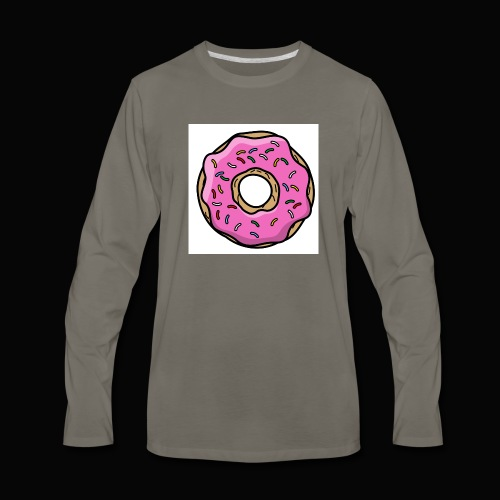 Doughnut Style - Men's Premium Long Sleeve T-Shirt