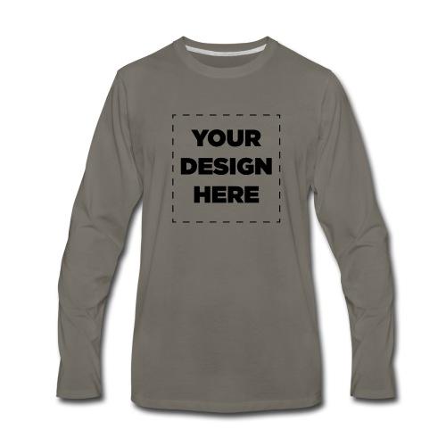Name of design - Men's Premium Long Sleeve T-Shirt
