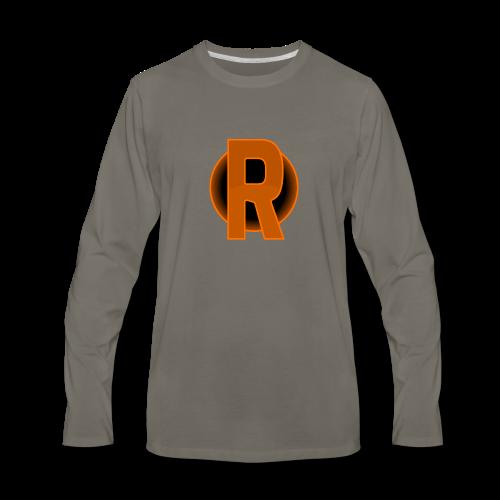 cmdr rithwald logo - Men's Premium Long Sleeve T-Shirt