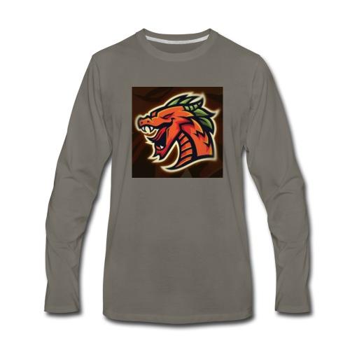 Crazy shooter logo - Men's Premium Long Sleeve T-Shirt