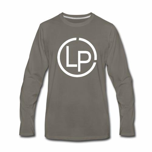 RoundWhite1 x1 - Men's Premium Long Sleeve T-Shirt
