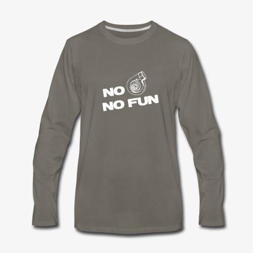 No turbo no fun - Men's Premium Long Sleeve T-Shirt