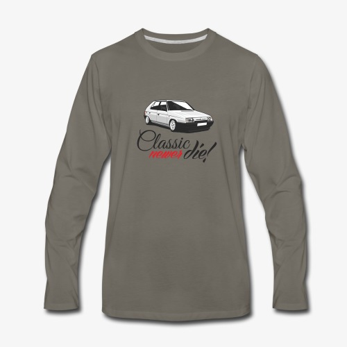 Favorit classic newer die - Men's Premium Long Sleeve T-Shirt