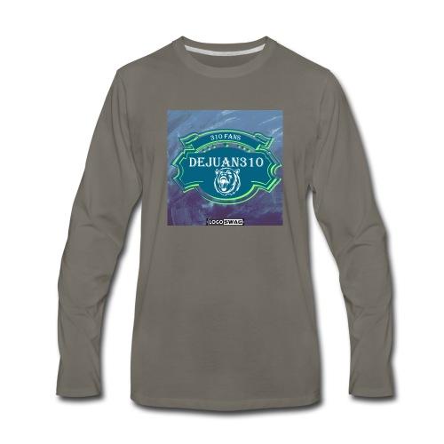 dejuan310 logo - Men's Premium Long Sleeve T-Shirt