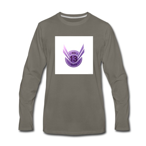This is my first company - Men's Premium Long Sleeve T-Shirt