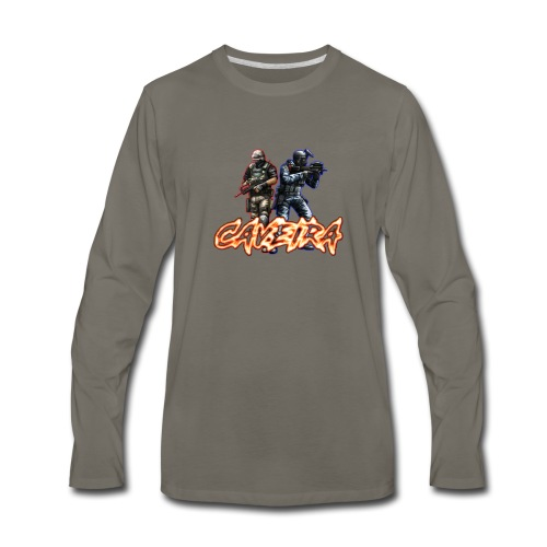 CF CAVEIRA STYLE - Men's Premium Long Sleeve T-Shirt