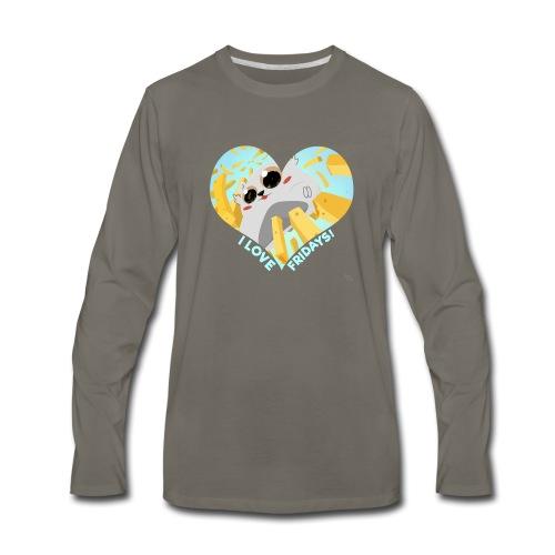 I Love Fridays! Tote Bag - Men's Premium Long Sleeve T-Shirt