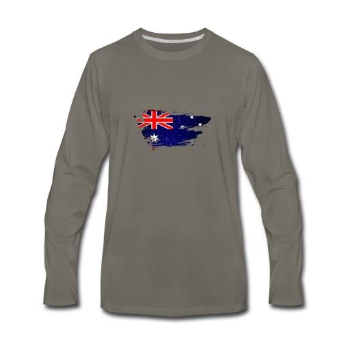 Australian Flag - Men's Premium Long Sleeve T-Shirt
