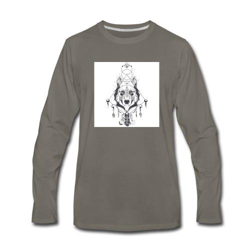 Indian Wolves - Men's Premium Long Sleeve T-Shirt