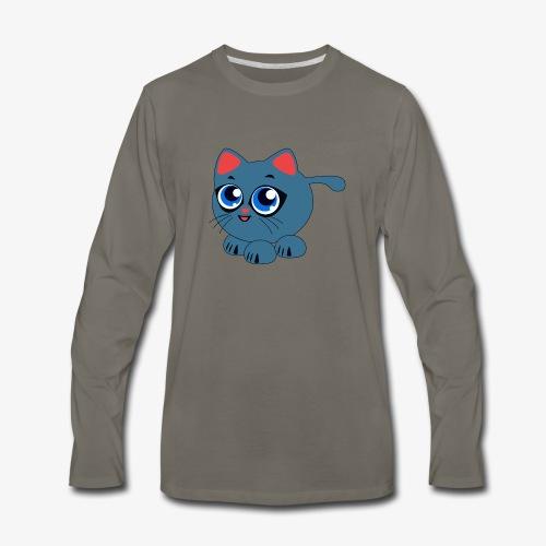 Baby Cat Funny - Men's Premium Long Sleeve T-Shirt
