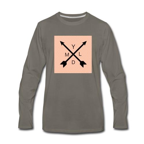 Ydlm Ambroid logo - Men's Premium Long Sleeve T-Shirt