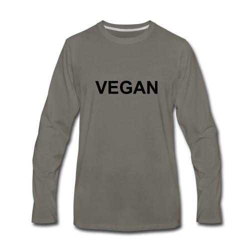 VEGAN - Men's Premium Long Sleeve T-Shirt