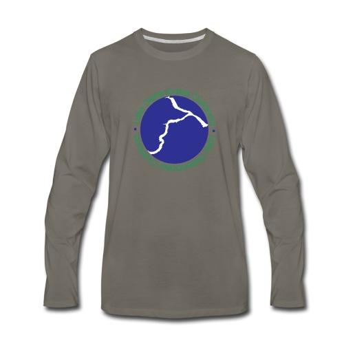 LDO WHITE LOGO - Men's Premium Long Sleeve T-Shirt