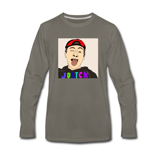 JustCk self drawn by Dazadingo - Men's Premium Long Sleeve T-Shirt