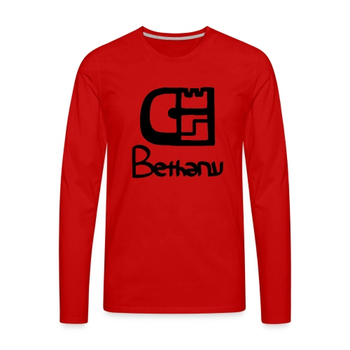 clothed with salvation - Men's Premium Long Sleeve T-Shirt