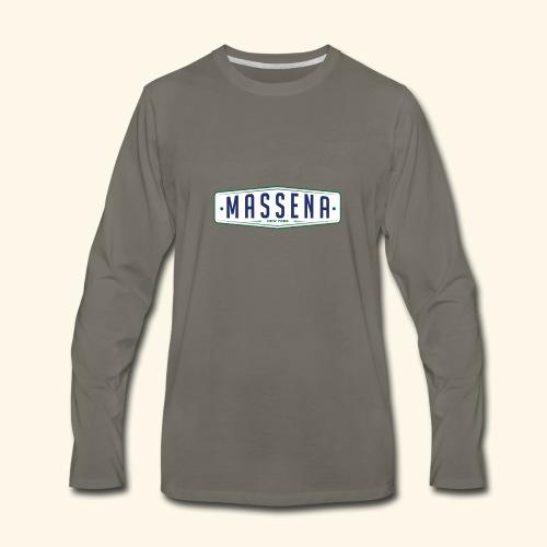 Massena Plate - Men's Premium Long Sleeve T-Shirt