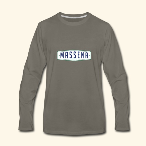 Massena Plate - Men's Premium Long Sleeve T-Shirt