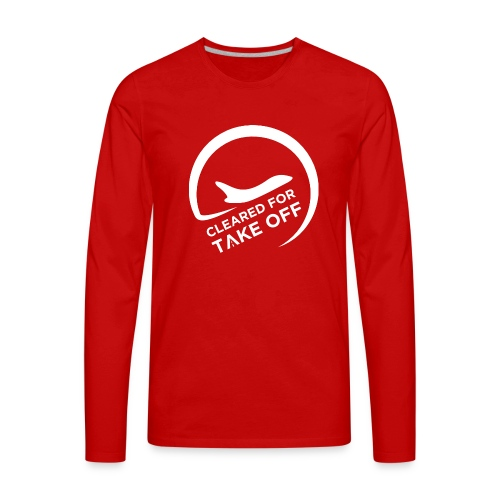 Logo Transparent - Men's Premium Long Sleeve T-Shirt