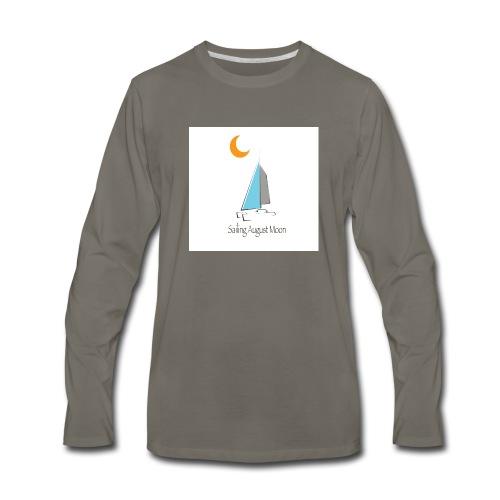 August Moon/Moon - Men's Premium Long Sleeve T-Shirt