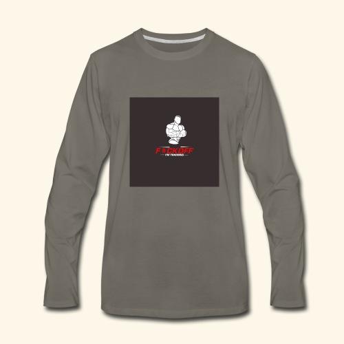 gymjunkie - Men's Premium Long Sleeve T-Shirt