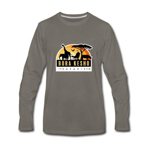 Bora Kesho Safaris - Men's Premium Long Sleeve T-Shirt