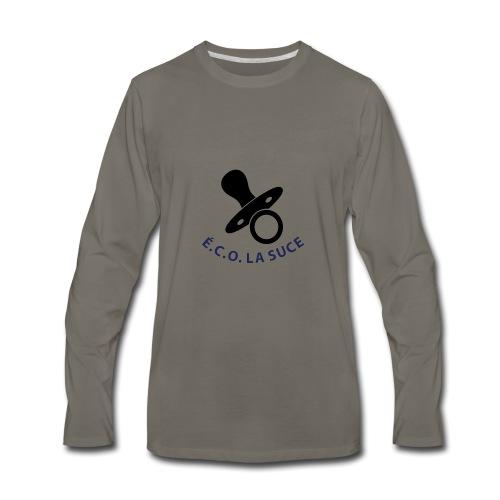 Logo É.C.O. LA SUCE - Men's Premium Long Sleeve T-Shirt
