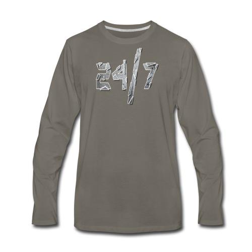 24/7 with ABG - Men's Premium Long Sleeve T-Shirt