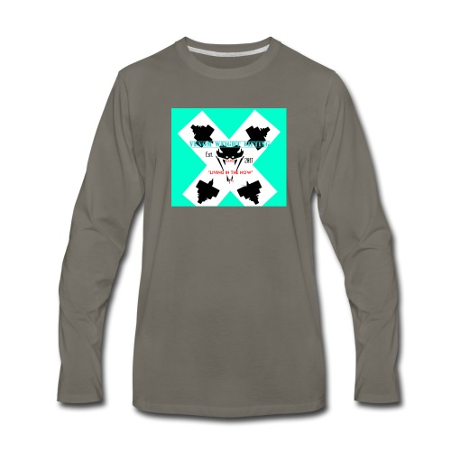 Viper head - Men's Premium Long Sleeve T-Shirt