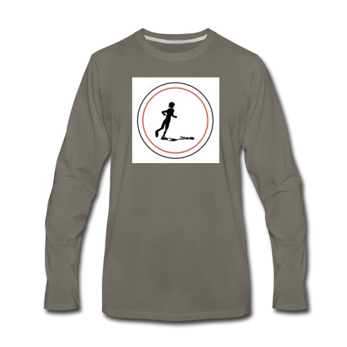 Keep On Running - Men's Premium Long Sleeve T-Shirt