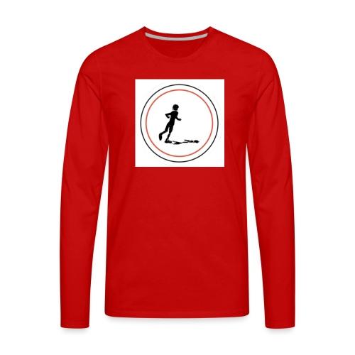 Keep On Running - Men's Premium Long Sleeve T-Shirt