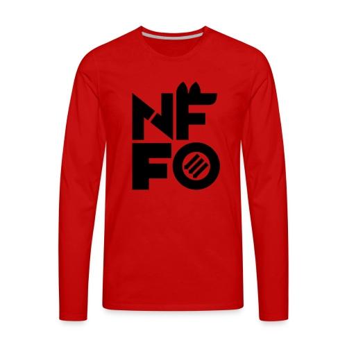 NFFO - Men's Premium Long Sleeve T-Shirt