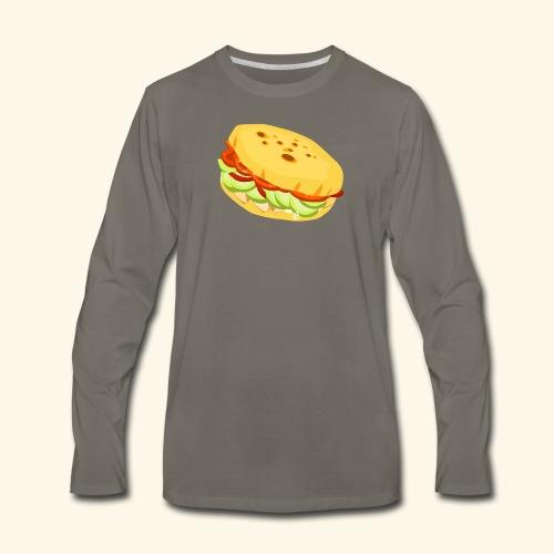 Arepa Sandwich - Men's Premium Long Sleeve T-Shirt