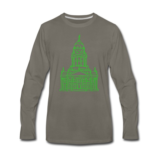 French Cathedral Berlin - Men's Premium Long Sleeve T-Shirt