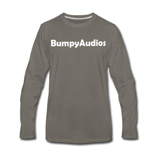 BumpyLogo - Men's Premium Long Sleeve T-Shirt